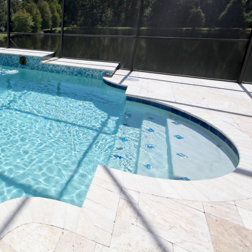 Limestone, Mexican Tile, Terazzo & Pool Decks.